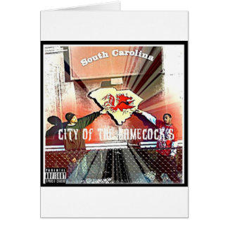City Of Da Gamecocks Official Mixtape Greeting Card