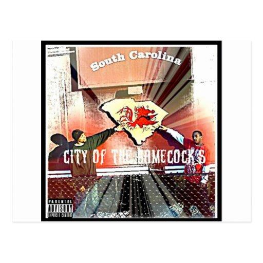City Of Da Gamecocks Official Mixtape Postcard