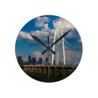 City of Dallas Round Clock