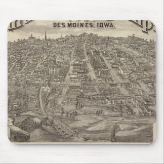 City of DesMoines from South Park Hill Mouse Mat