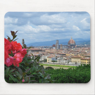 City of Florence, Italy Mouse Pad