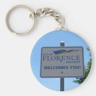 City of Florence Welcomes You! Keyring