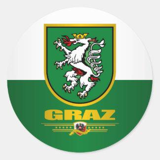 City of Graz Classic Round Sticker