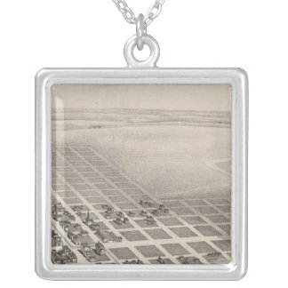 City of Herington, Kansas Silver Plated Necklace