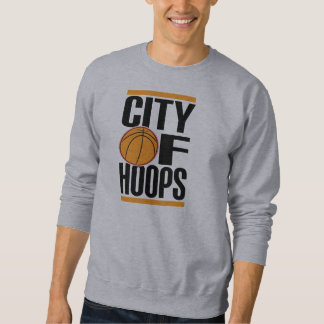 City Of Hoops: COH Classic/ Front And Back Sweatshirt