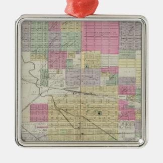 City of Hutchinson, Reno County, Kansas Christmas Ornament