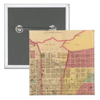 City of Ironton with Proctorsville 15 Cm Square Badge
