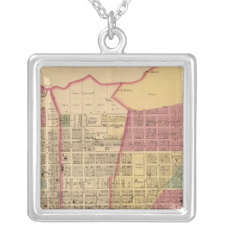 City of Ironton with Proctorsville Square Pendant Necklace
