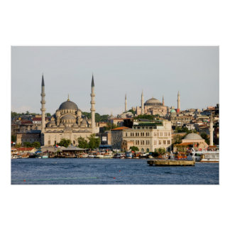City of Istanbul Skyline Posters