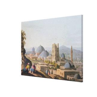 City of Jerusalem, 1812 Canvas Prints