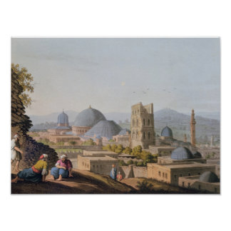 City of Jerusalem, 1812 Poster