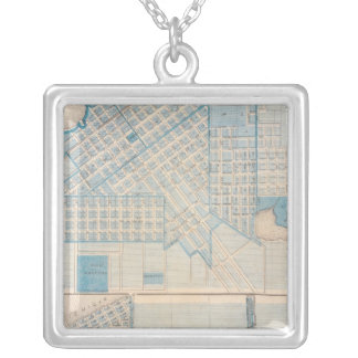 City of La Porte Michigan City, La Porte Co Silver Plated Necklace