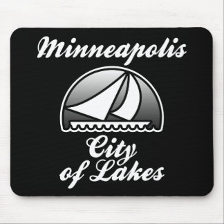 City of Lakes Mouse Pad