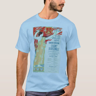 City of Liège Belgium singing contest vintage T-Shirt