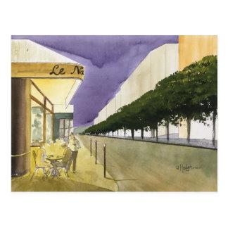 CITY OF LIGHT,  PARIS, WATERCOLOR, POSTCARD