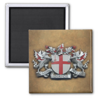 City of London Arms Square Magnet