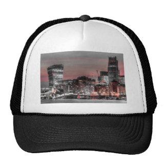 City of London at night Hats