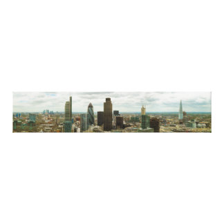 City of London England seen from City Point Gallery Wrap Canvas