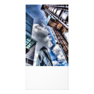 City of London Iconic Buildings Personalised Photo Card