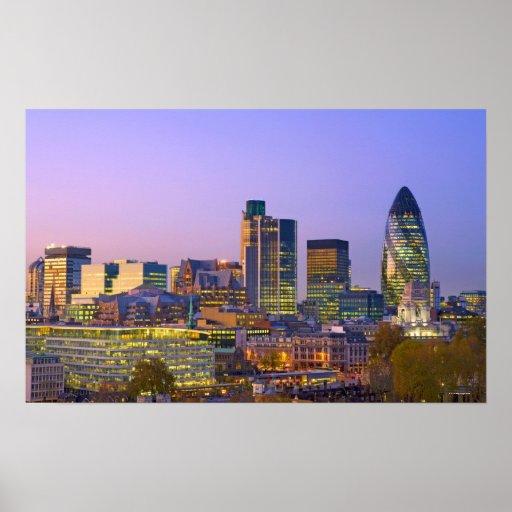 City of London Print