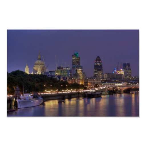 City of London poster