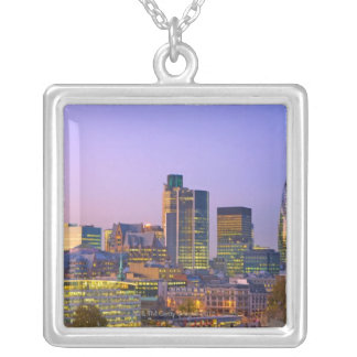 City of London Silver Plated Necklace