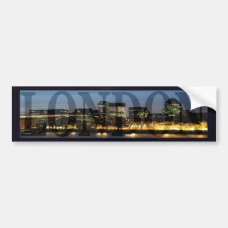 City Of London Skyline Bumper Sticker