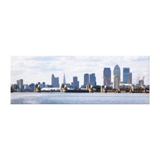 City of London Skyline Canvas Print