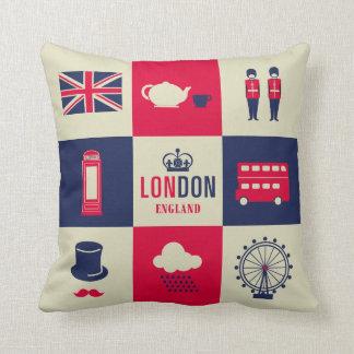 City Of London United Kingdom England 2 Sided Cushion