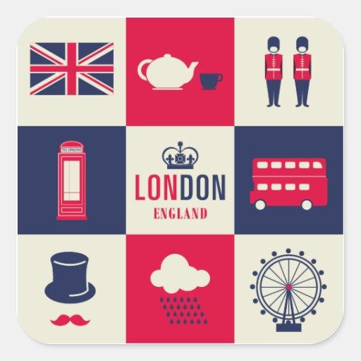 City Of London United Kingdom England Sticker