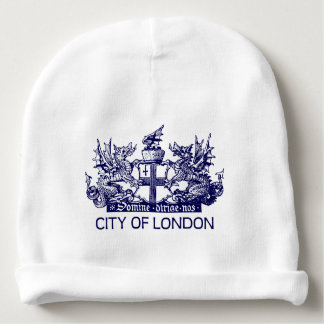 City of London, Vintage, Coat of Arms, England UK Baby Beanie