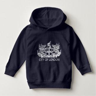 City of London, Vintage, Coat of Arms, England UK Hoodie