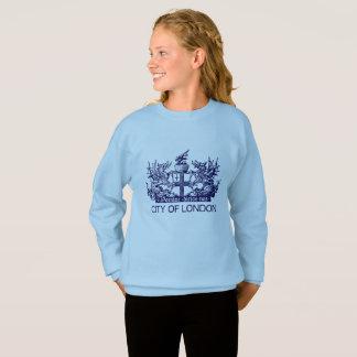 City of London, Vintage, Coat of Arms, England UK Sweatshirt