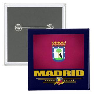 City of Madrid 15 Cm Square Badge