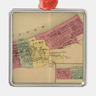 City of Maysville with Chester and Woodville Christmas Ornament