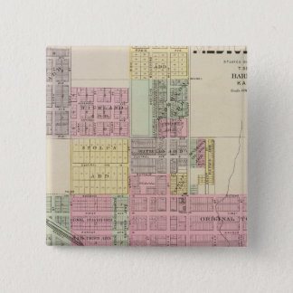 City of Medicine Lodge, Kansas 15 Cm Square Badge