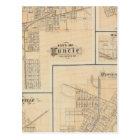 City of Muncie, Delaware Co with Yorktown Postcard