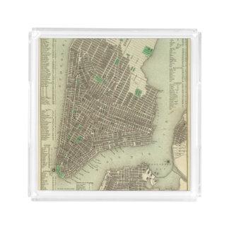 City Of New York Acrylic Tray