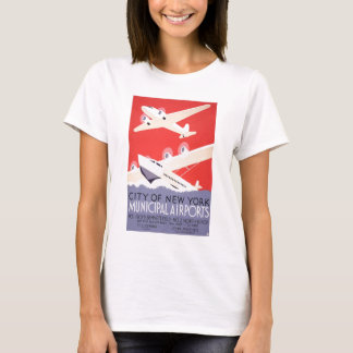 City Of New York Airports T-Shirt