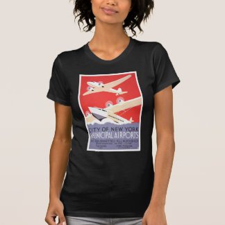 City Of New York Airports Tees