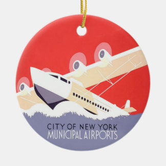 City of New York Christmas Ornament