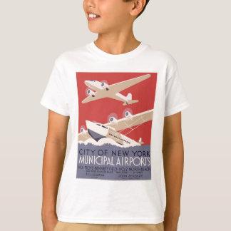 City of New York municipal airports No. 1 T Shirts