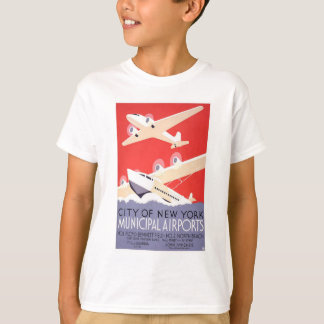 City of New York Municipal Airports T-Shirt