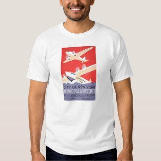 City of New York Municipal Airports Tshirts