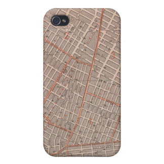 City of NY Atlas Map iPhone 4 Case