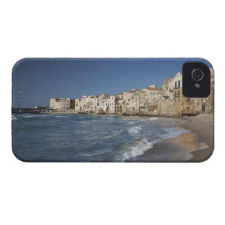 City of old buildings on beach Case-Mate iPhone 4 cases
