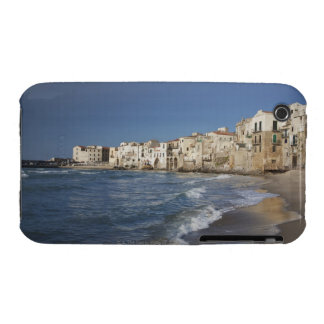 City of old buildings on beach iPhone 3 case