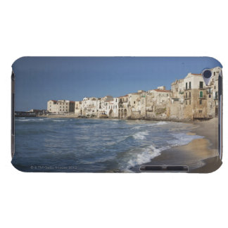 City of old buildings on beach iPod Case-Mate cases