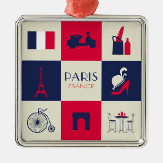 City Of Paris Christmas Ornament