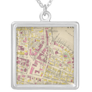 City of Portsmouth 3 Silver Plated Necklace